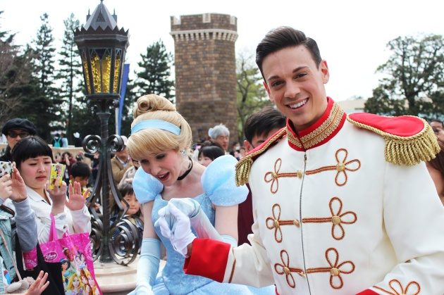 Cinderella and Prince Charming Disneyland