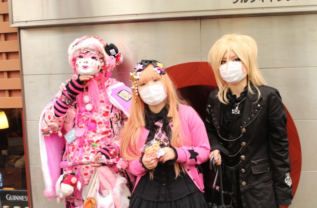 Cosplay in Harajuku