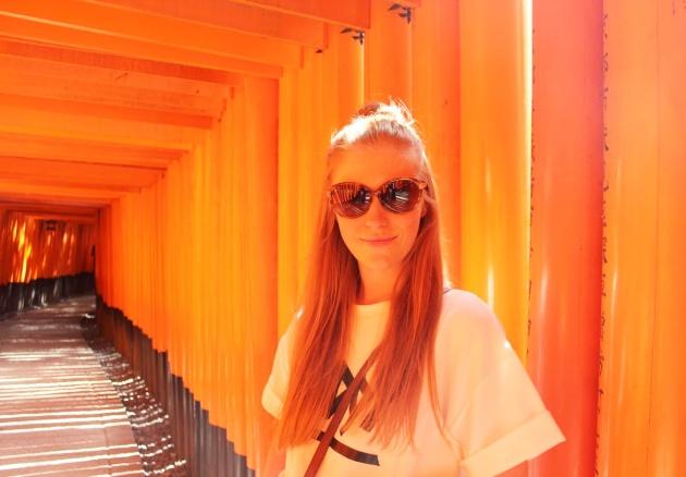 Fushimi Inari torii gates kyoto