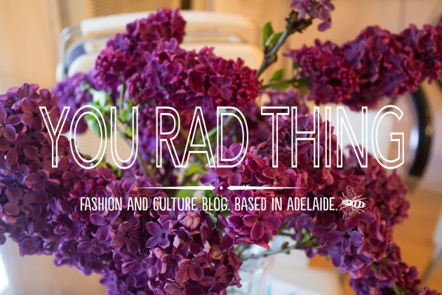 you rad thing title flowers